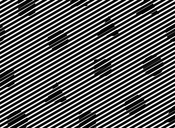 Linea nera astratta con motivo a forma geometrica