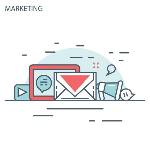 Online marketing lijnontwerp