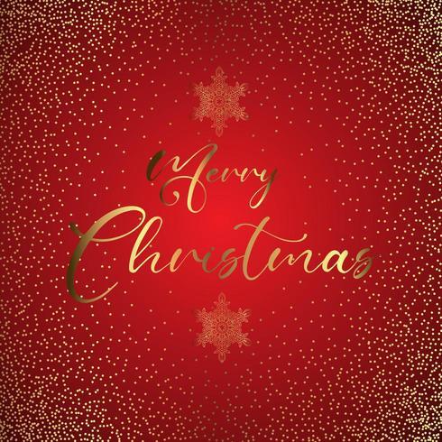 Merry Christmas Glittery background vector