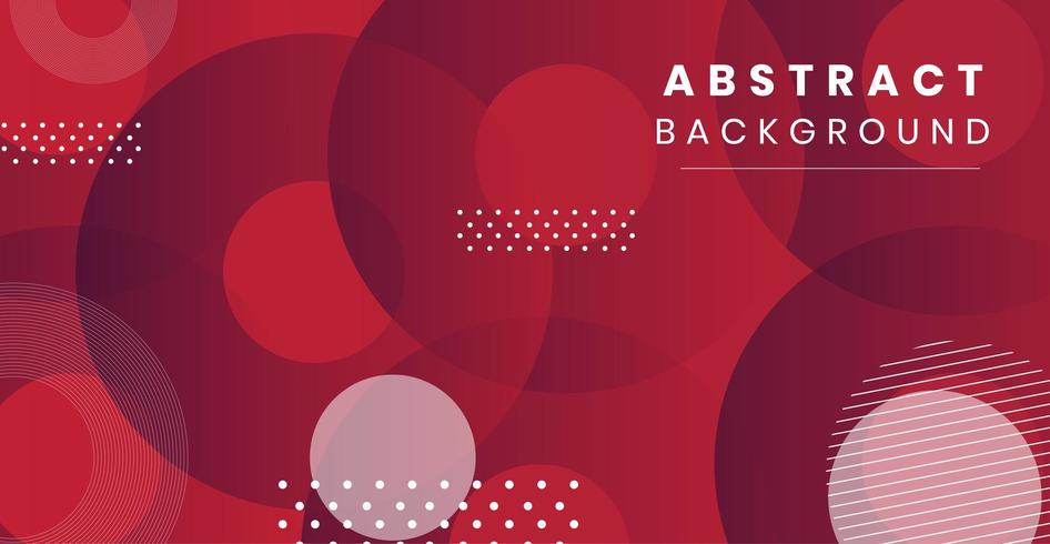 Dynamic style abstract Banner vector