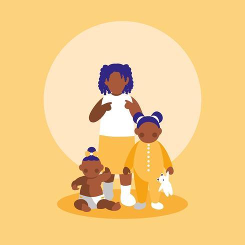 grupo de personagens de garotinhas
