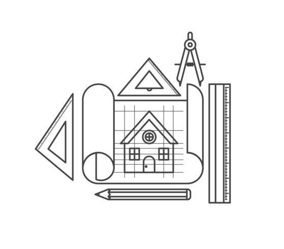 herramientas de construcción establecen elementos vector