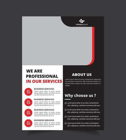 Design professionale per volantini aziendali