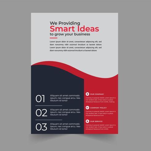 Smart Ideas Corporate Flyer Design - Download Free Vectors