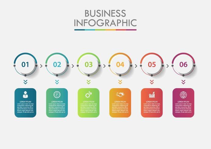 Infográfico numérico de dados comerciais