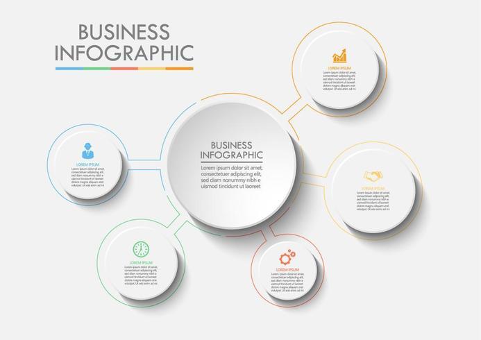 Business Circle Web Infografica