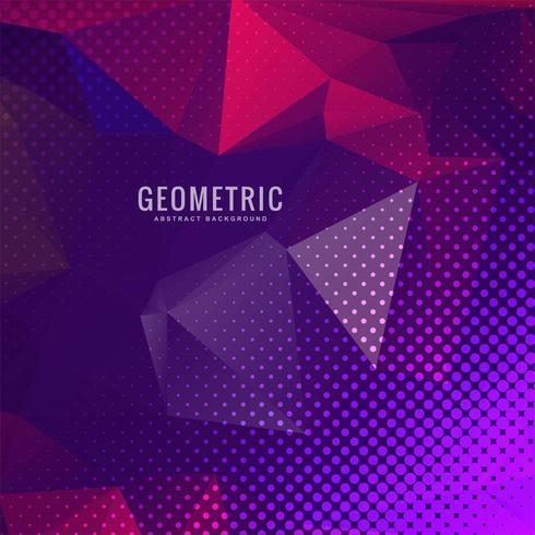 Astratto sfondo colorato geometrico multicolore