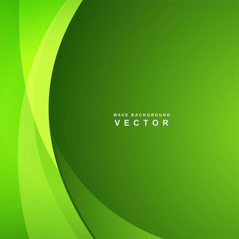 Abstrait vert affaires vague