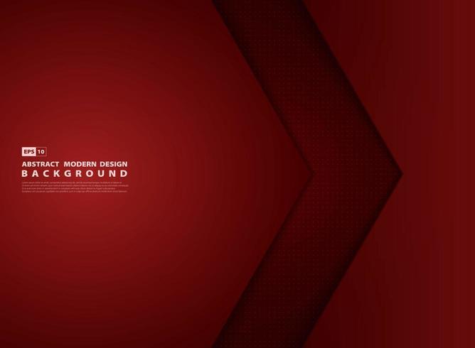Copertina design moderno sovrapposto sfumato rosso