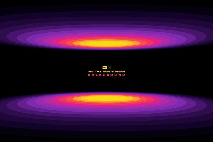 Cerchio colorato motivo geometrico sullo sfondo