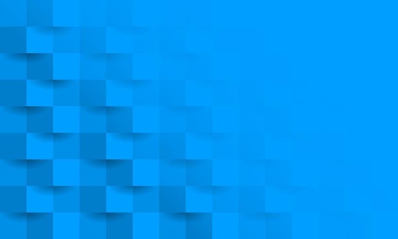Fond de bloc 3d bleu