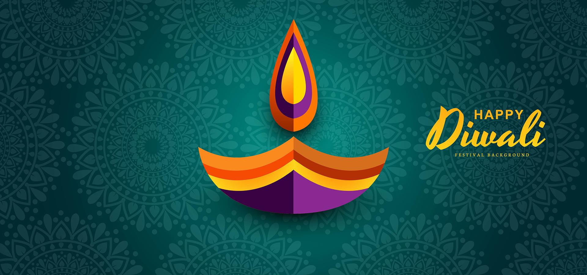 Joyeux Diwali Papier Graphique Du Design De La Lampe A Huile Indian Diya Telecharger Vectoriel Gratuit Clipart Graphique Vecteur Dessins Et Pictogramme Gratuit
