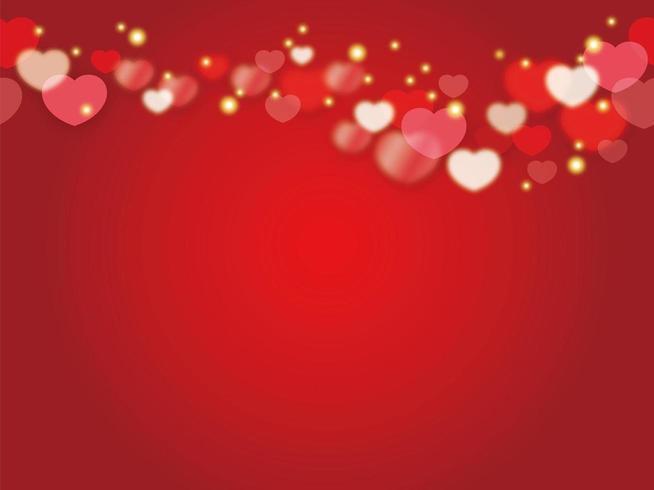 Modello di carta di San Valentino senza soluzione di continuità