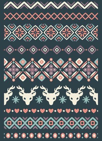 lelijk sweaterpatroon vector