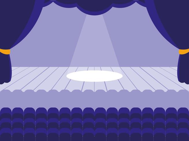 Escena del teatro
