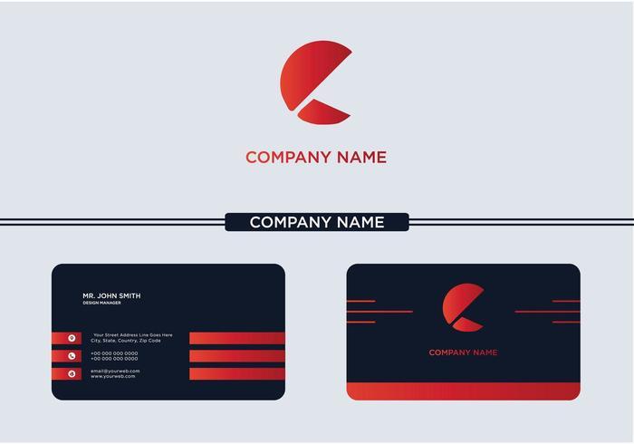 Lettera creativa Logo Company C
