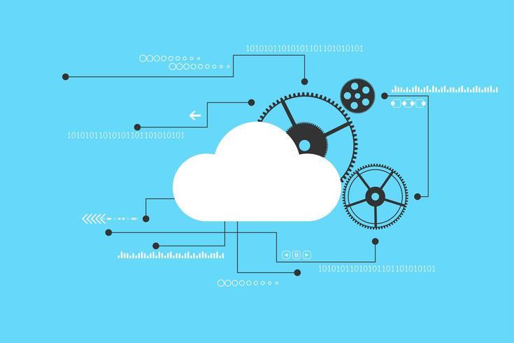 Modern tech concept background