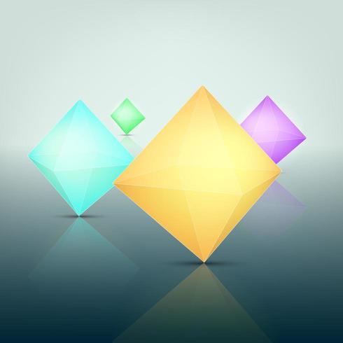 3 dimension of polygon