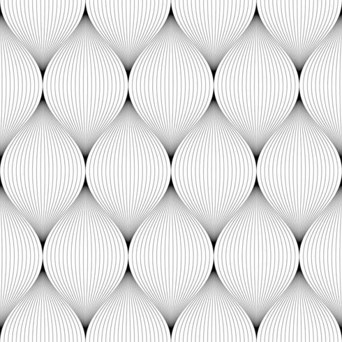 Thin black lines making seamless pattern