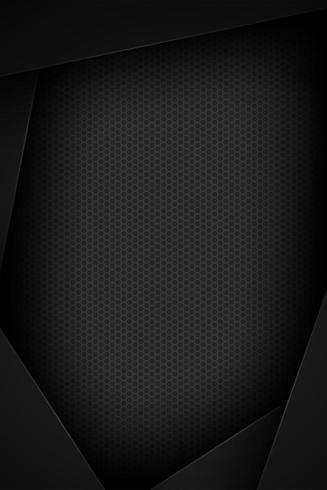 Vertical black abstract paper with dot pattern