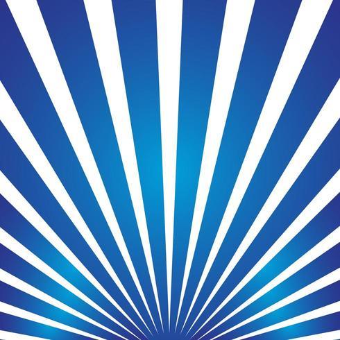 Raggi di sole blu scoppiano