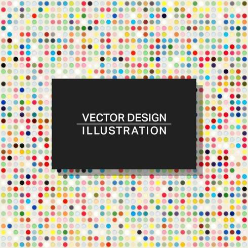 Modello di sfondo punti multicolor