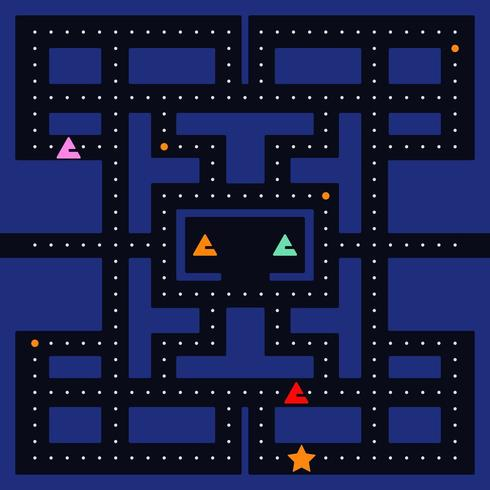 Pac Man Monster Racing