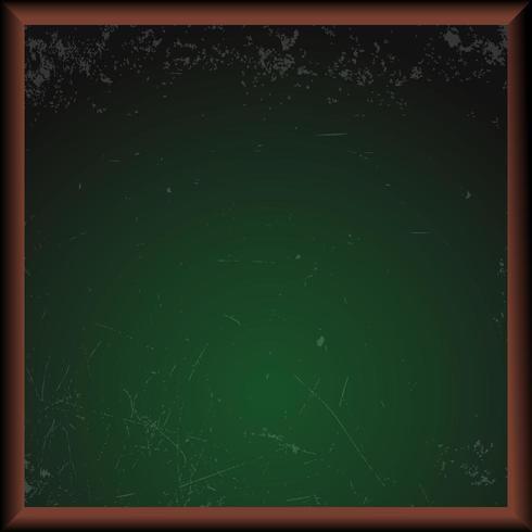 Tableau d'école vert vide