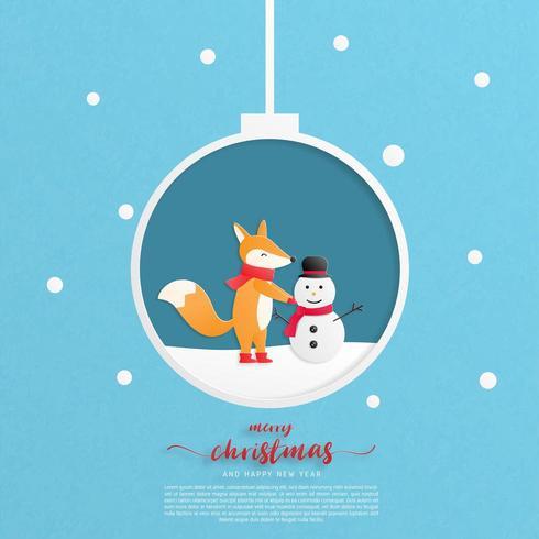 Folleto Feliz Navidad