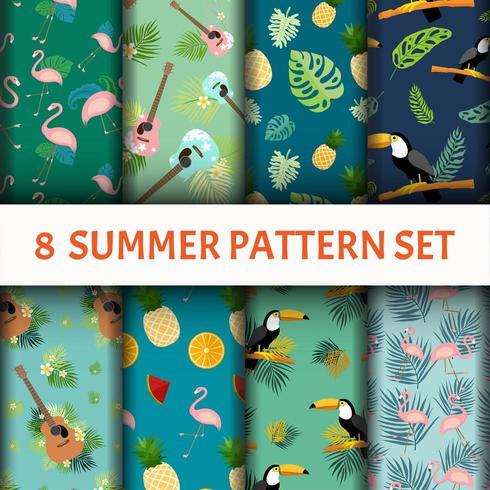 Summer vibes Pattern set