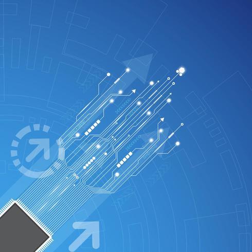 Technologie-Innovationskonzept vektor
