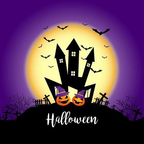 Château d'Halloween Spooky