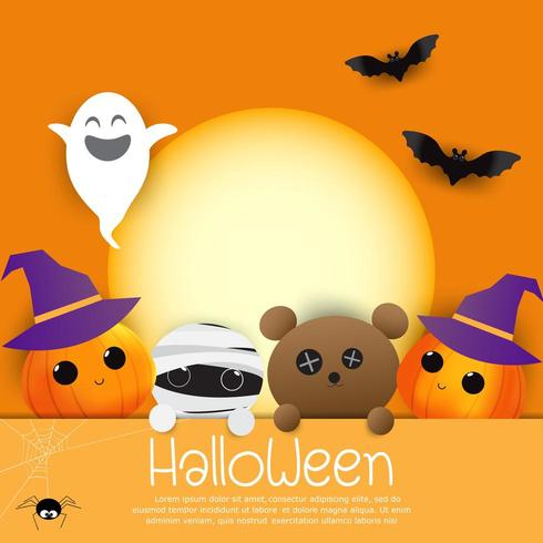 Halloween Character Background
