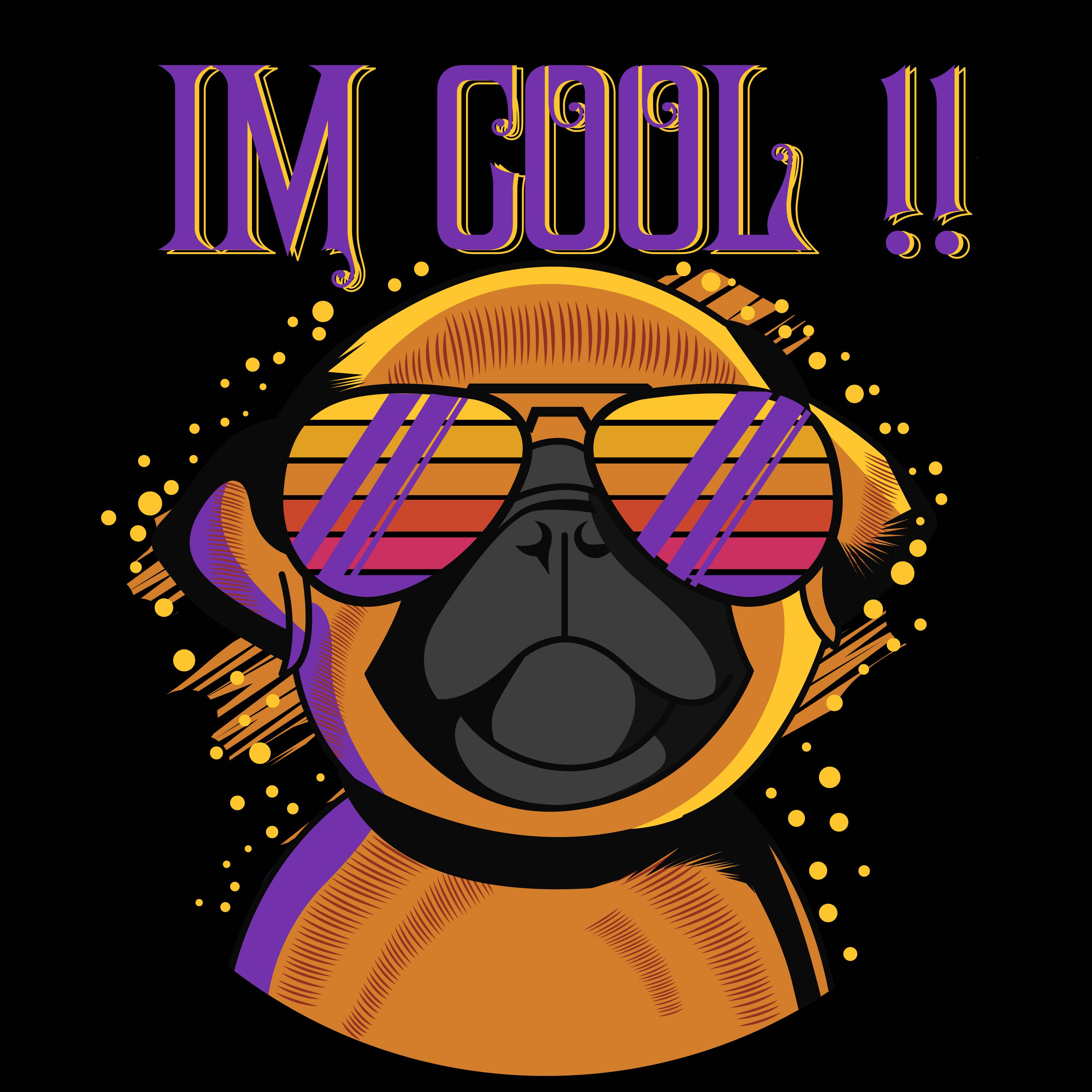 Pug face illustration for t shirt design - Download Free ... (4000 x 4000 Pixel)