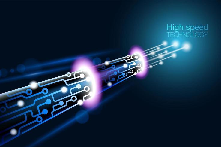 High speed fiber optic technology