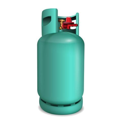 Réservoir d'essence ou de propane 3d vecteur