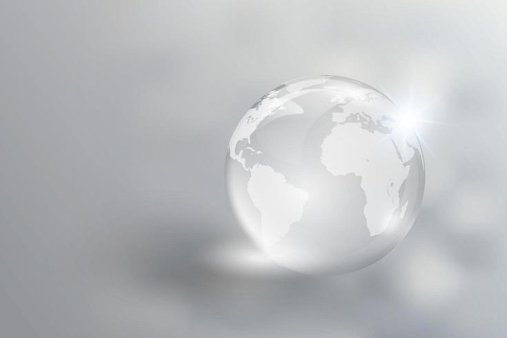 Kristallglaskugel vektor