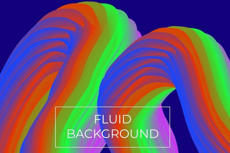 Flüssige Hintergrund-Design-Vorlage vektor