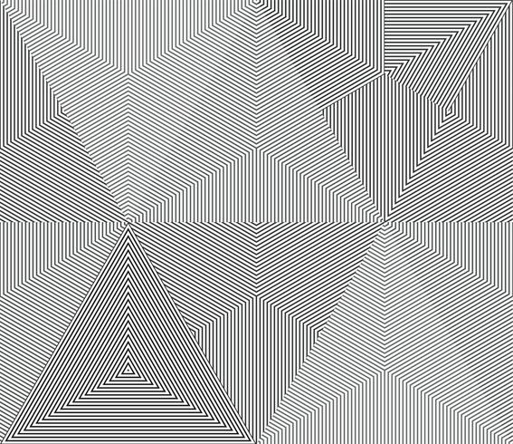 Geometric monochrome line seamless background.