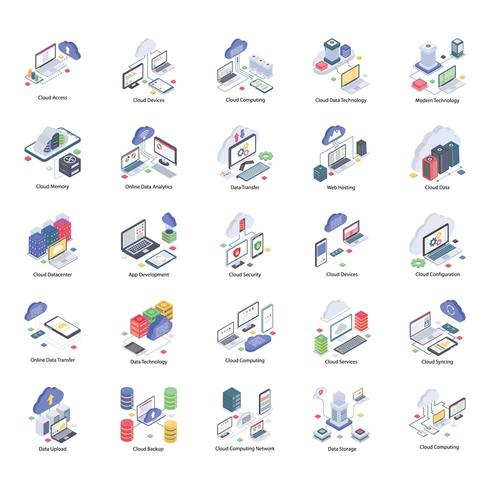 Cloud Technology Icons Pack