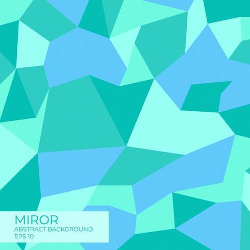Grüner und blauer moderner abstrakter Hintergrund