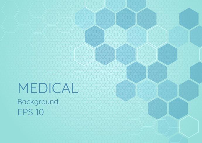 Sauberes Design des medizinischen Hintergrundes