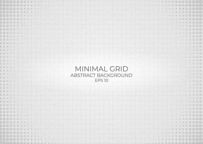 Minimal abstrakt bakgrund för rutnät
