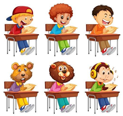 Satz des Studenten Prüfung nehmend