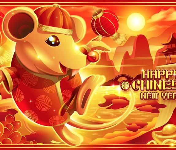 Año nuevo chino, el año de la rata