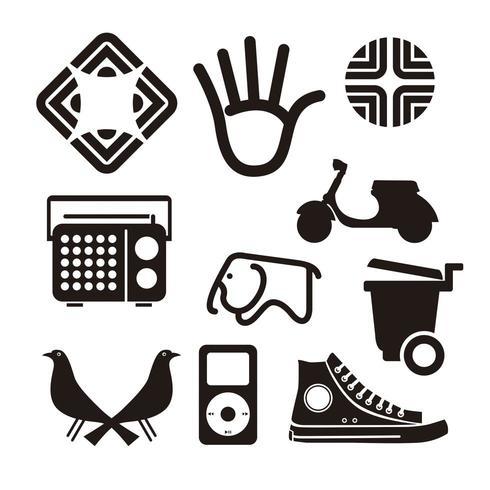 set di icone vettoriali