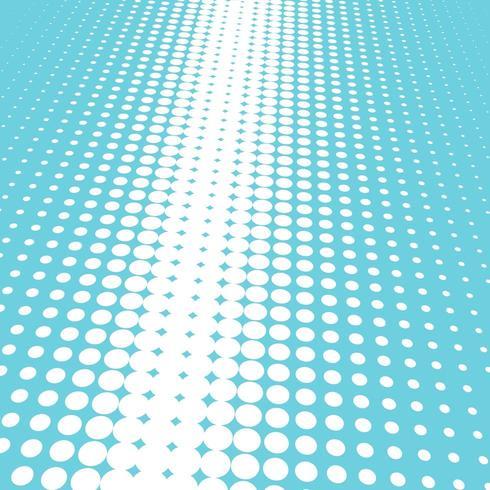 Fondo azul y blanco de semitono vector