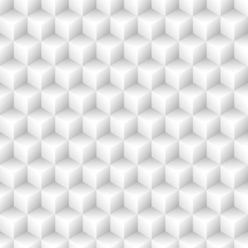 Seamless cubes pattern background vector