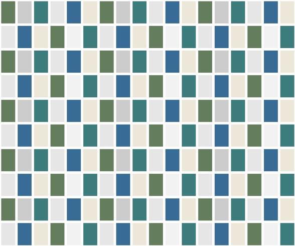 Blauw en groen rastertegelpatroon vector