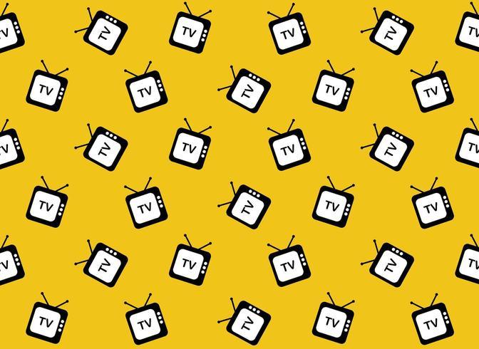 Retro tv web pictogram patroon vector
